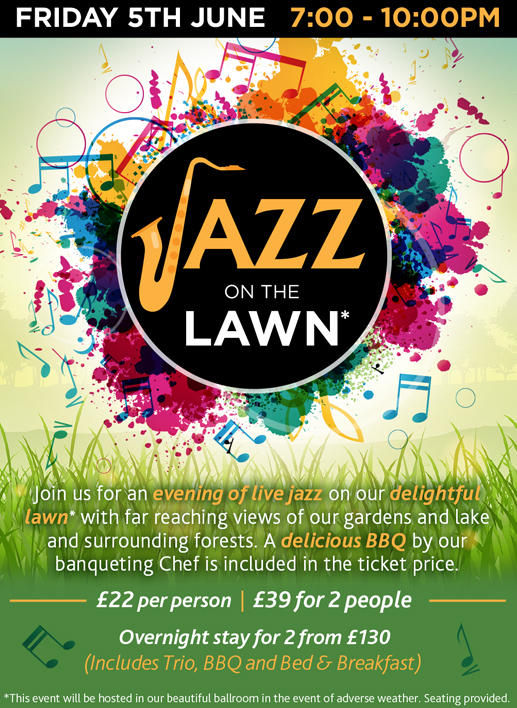 Jazz on the Lawn Lynford Hall, Norfolk 2020