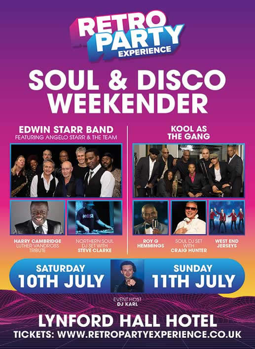 Soul and Motown Party, Lynford Hall, Norfolk 2021